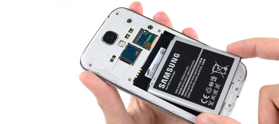 Changer batterie Galaxy S4